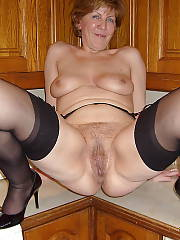 Horny mature mom
