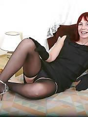 Hot redhead mother