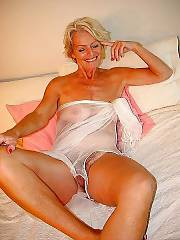 Naughty mature blonde
