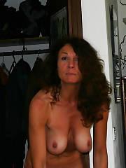 Nice nude brunette