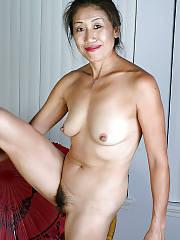 Sexy asian hairy