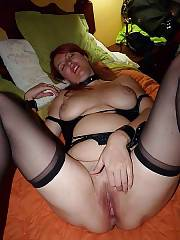 Busty redheaded wife jane blowing her lovers cock.
