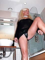 Mature blonde whore