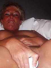 Horny mamma sucking