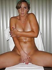 Sexy busty mom jerking