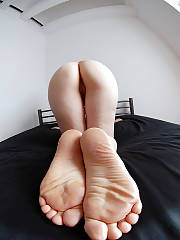 Mature slut in white