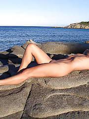 Amateur nudist naked
