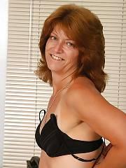 Hot mature redhead