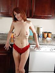 Sexy mature red-haired