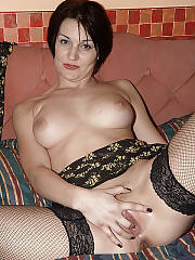 My wifes new married lesbian lover getting ready for a night with my wife