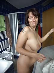 Busty nude dark