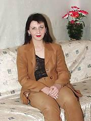 Slender brunette