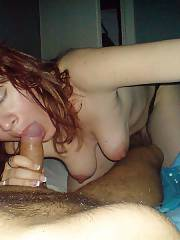 Sexy mature mamma loves blowing prick and guzzling sperm
