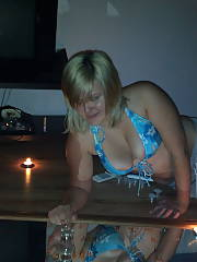 Drinks and cards turns hot!!!  she is into some beautiful kinky things.  never a dull moment with this broad