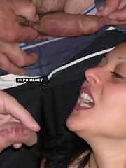 Insane orgy in car