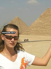 Skinny russian wife and her amateur porn photos from vacation on Egypt resort, She is sweet and sexy and has lovely round butt and fuckable sloppy vagina between legs