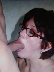 MILF Deneen blowing