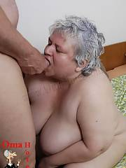 Bbw mature granny gives sucks