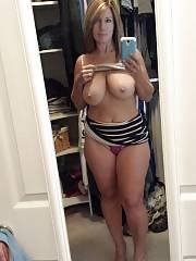 Sexy mature in this amazing homemade selfshot picture