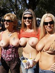 3 mature wifes with cute jugs