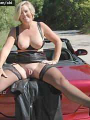 Amazing novice pic with a amazing blondie MILF
