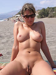 Mature mother on