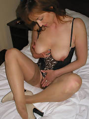 Superb MILF lingerie