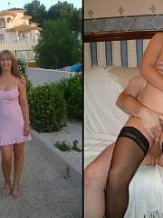 Amazing homemade hardcore picture with fabulous blonde mature