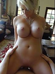 Excellent blonde mom in incredible rookie vagina picture