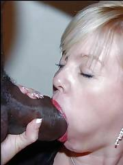 Your huge Black pecker is to big for My Elegant White Classy Mature throat