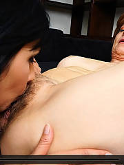 Hairy mature and