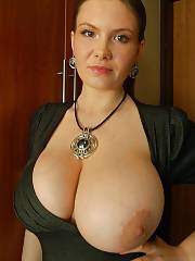 Mamma with massive jugs