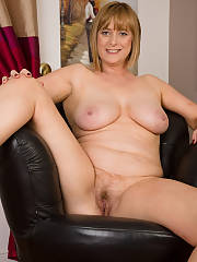 Blonde mom in the