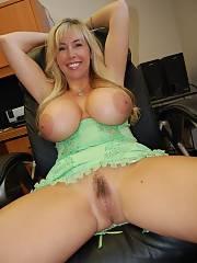 Mother huge boobs