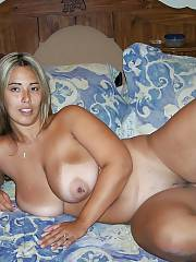 Fabulous latina mommy in picture
