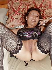 Attractive Asian milf