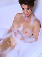 Nasty milf in bath