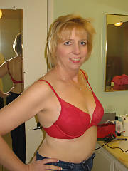 Awesome amateur picture featuring nice blond mature