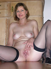Amazing homemade pic with fabulous blondie mature