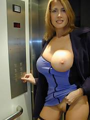 Huge busty mom
