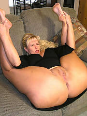 Yummy blond mature