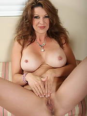 Beautiful mom in