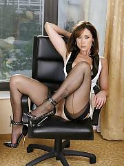 Hot mature in a