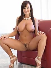 Curvy brunette milf