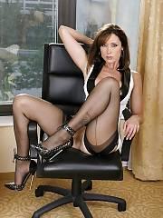 Sexy mature in a