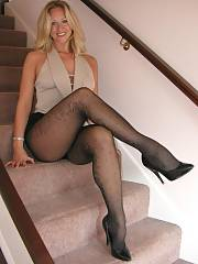 Sweet blond mother