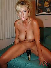 Yummy blondie mommy