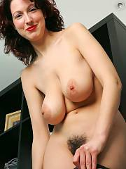 Cute mature in a