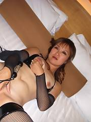 Asian milf spread legs