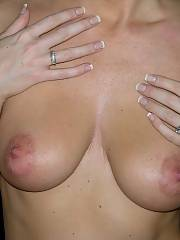 MARRIED mom SHOWS huge NATURAL titties